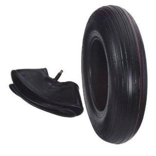 Reifen mit Schlauch 400X100/4PR SET