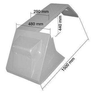 SCHUTZBLECH LINKS Material: Blech - grundiert Serie 55 + 56