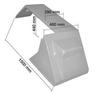 SCHUTZBLECH RECHTS Material: Blech - grundiert Serie 55 + 56