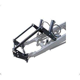 Anbausatz1 für Euroschnellwechselrahmen größe2 und3 mit Gerätebetätigung mit 2 Hyd.Zylindern